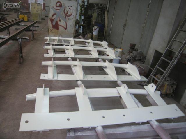 Konstrukcje dewiatorowe - dla lin stalowych.
