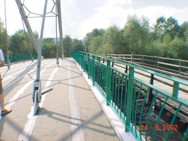 Balustrady mostowe Jeleśnia.