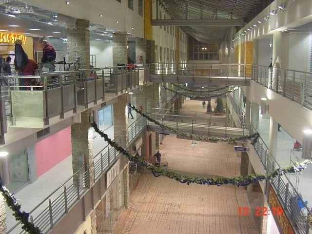 Centrum SFERA Bielsko Biała. - Wszystkie elementy metalowe.